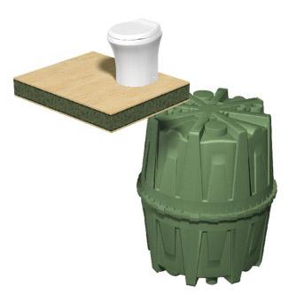 Также бак Hercules можно использовать как накопитель дождевых или ливневых вод.
