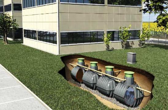 Немецкая автономная система канализации для поселка